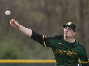 Brockport Baseball wins the second  game of the doubleheader against Fredonia