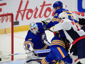 Offensive Showing Not Enough in Sabres 6-4 Loss on Opening Night