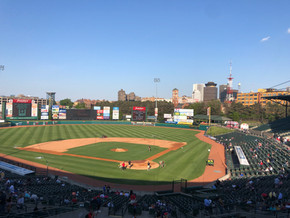 Rochester strikes early, falls behind in 11-6 loss in first home game in almost two years.