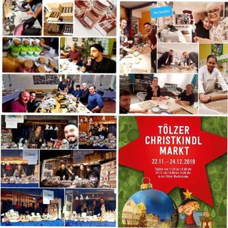 Vereinsstand beim Tölzer Christkindlmarkt 2019
