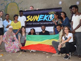 Besuch beim SunEko-Projekt in Äthiopien