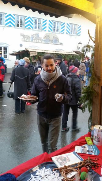 Förderverein am Christkindlmarkt in Benediktbeuern