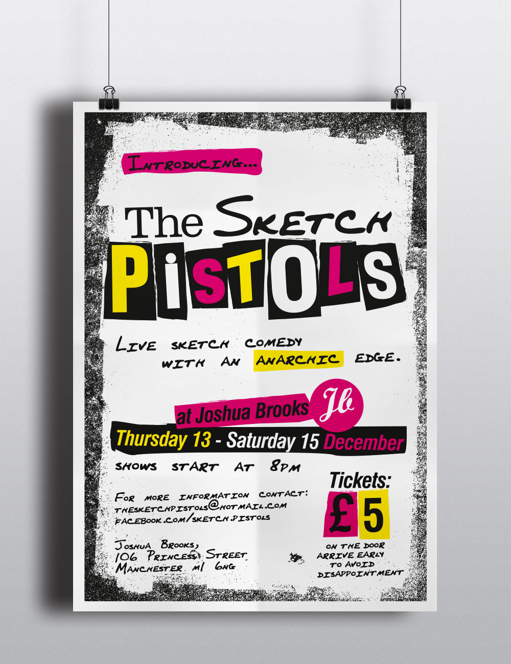 The Sketch Pistols