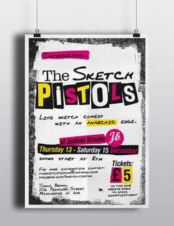 The Sketch Pistols