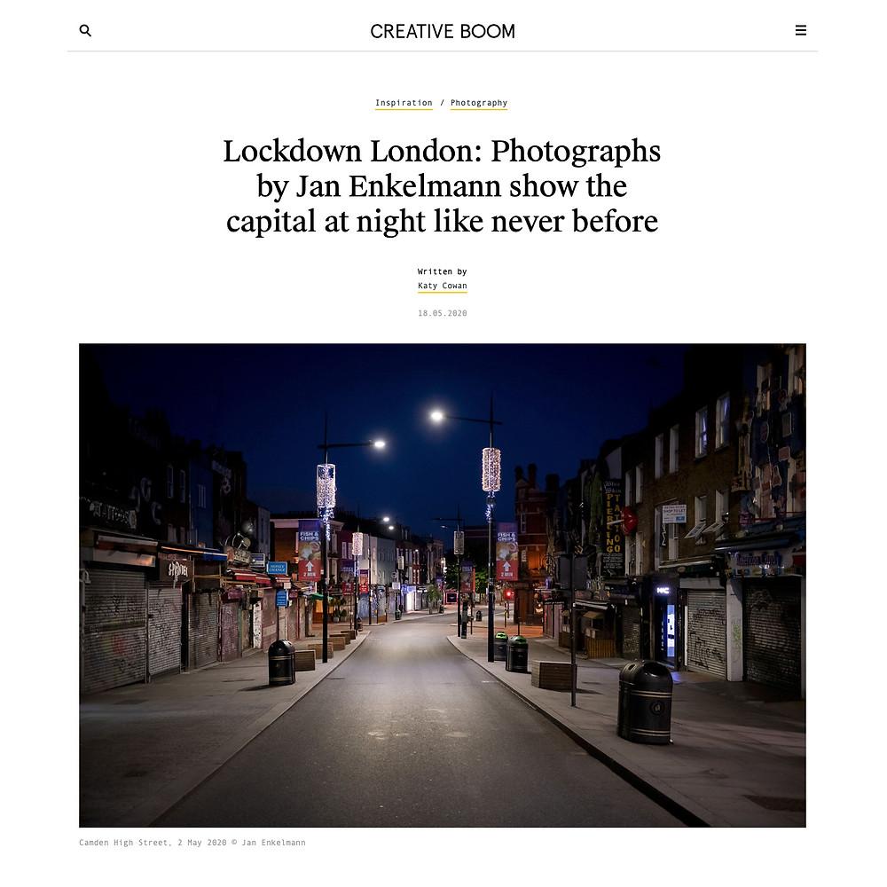 Lockdown London: Photographs by Jan Enkelmann show the capital like never before