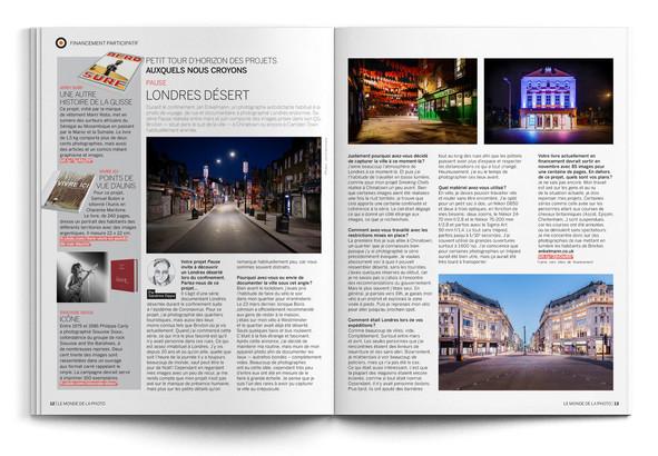 Le Monde de la Photo magazine