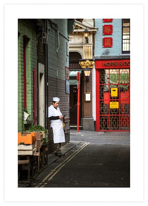 Smoking Chefs (Print 2)