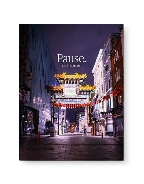 Pause. London in lockdown – signed book with print