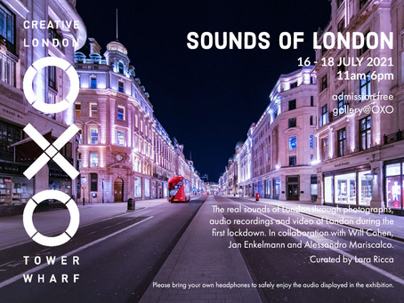 Sounds of London – a unique exhibition featuring images from 'Pause'