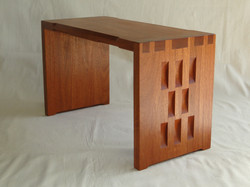 Dovetailed stool