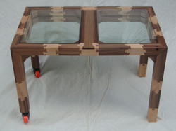 Dovetailed coffee table