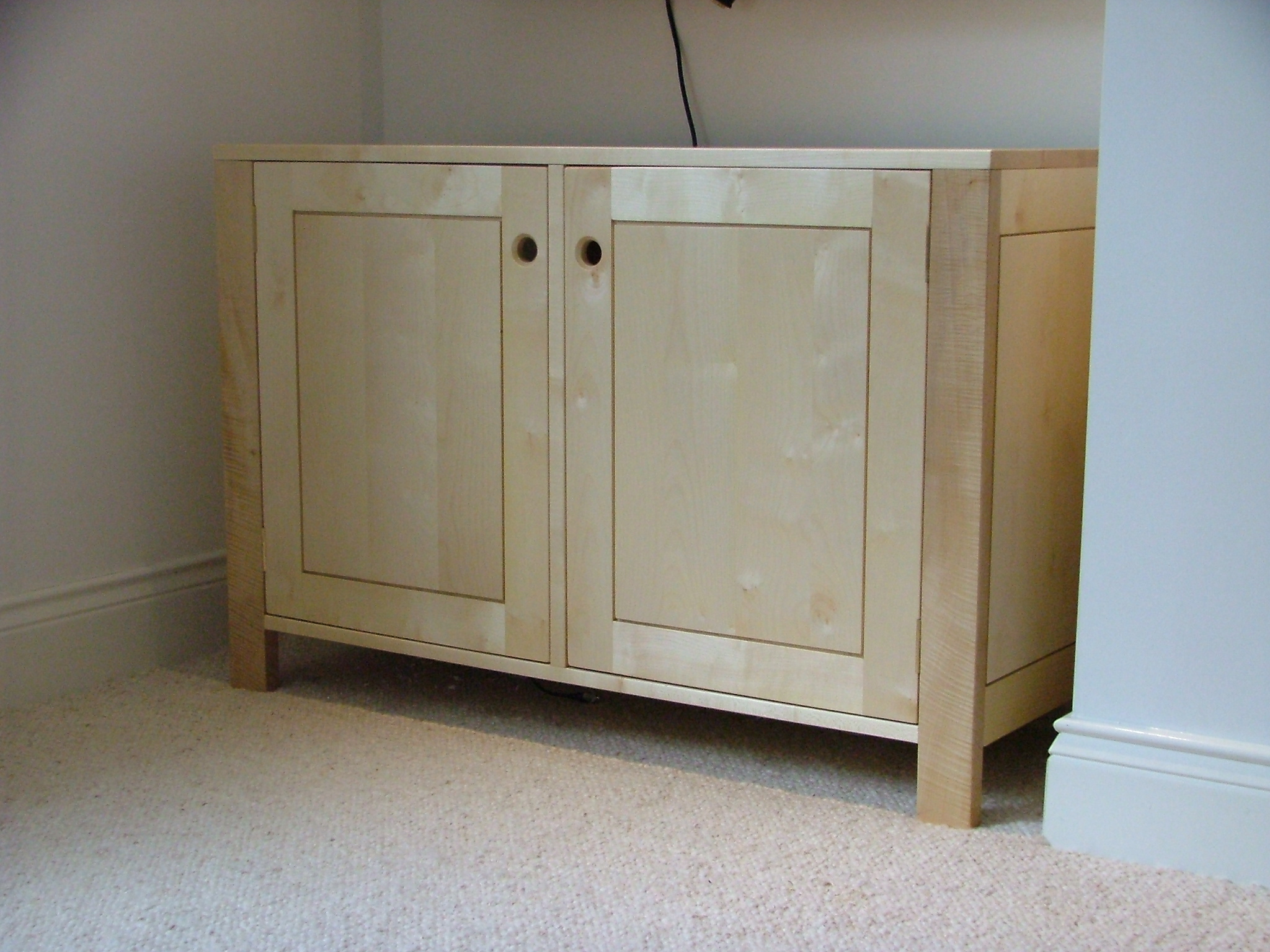 Sycamore sideboard
