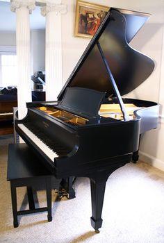 Restored 1915 Baldwin Baby Grand Piano