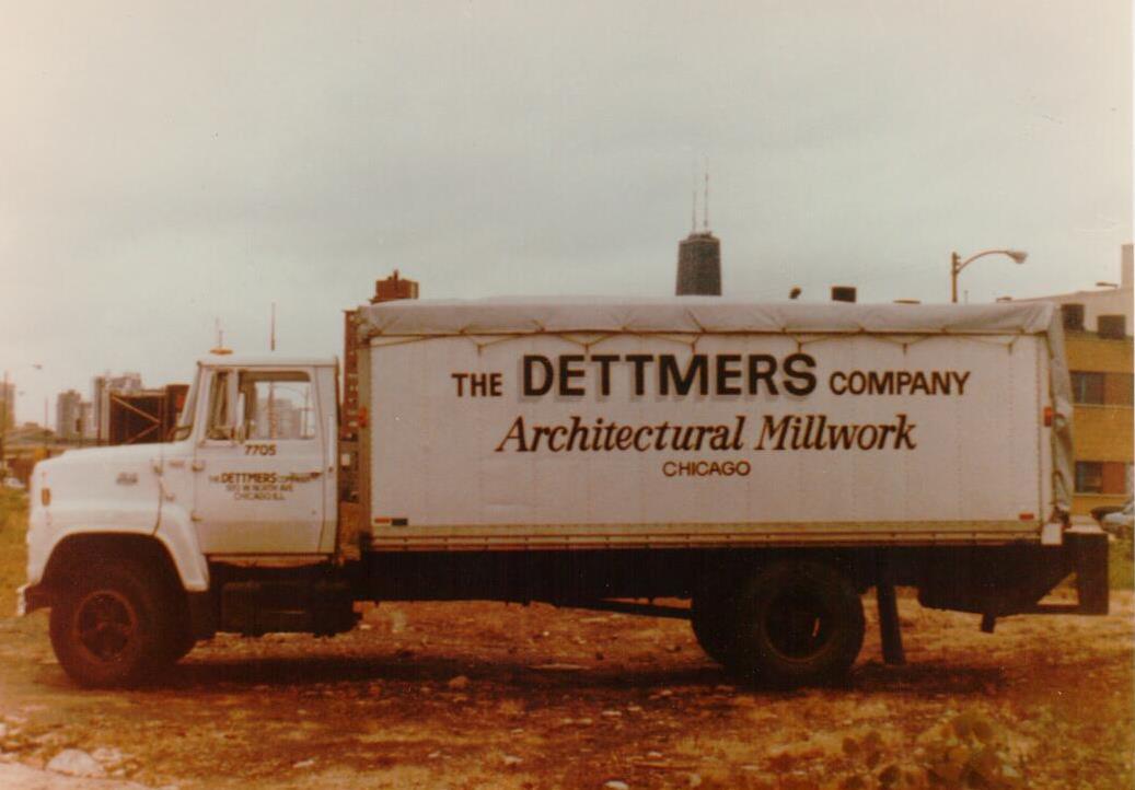 Dettmers Company Truck 1983