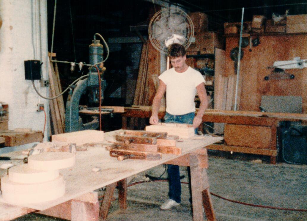 Mike Helm, Dettmers Cabinetmaker Apprentice 1983