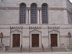 Temple Shalom Entry Doors, Chicago