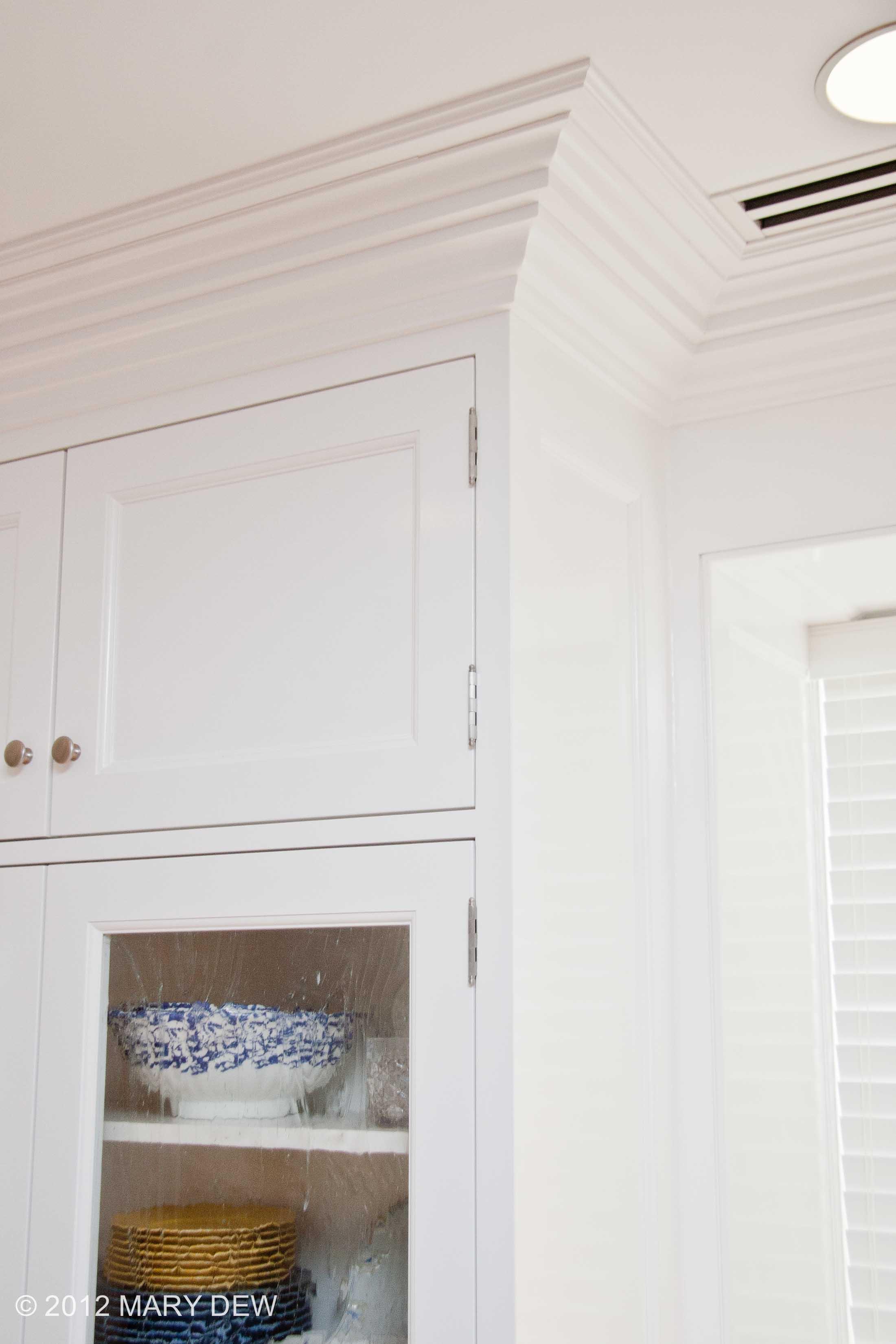 Inset Door Style & Custom Plaster Moulding