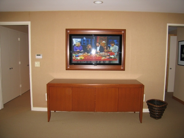 Media Cabinet & TV Frame, North Shore