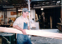 Joe Helm, Dettmers Cabinetmaker 1983