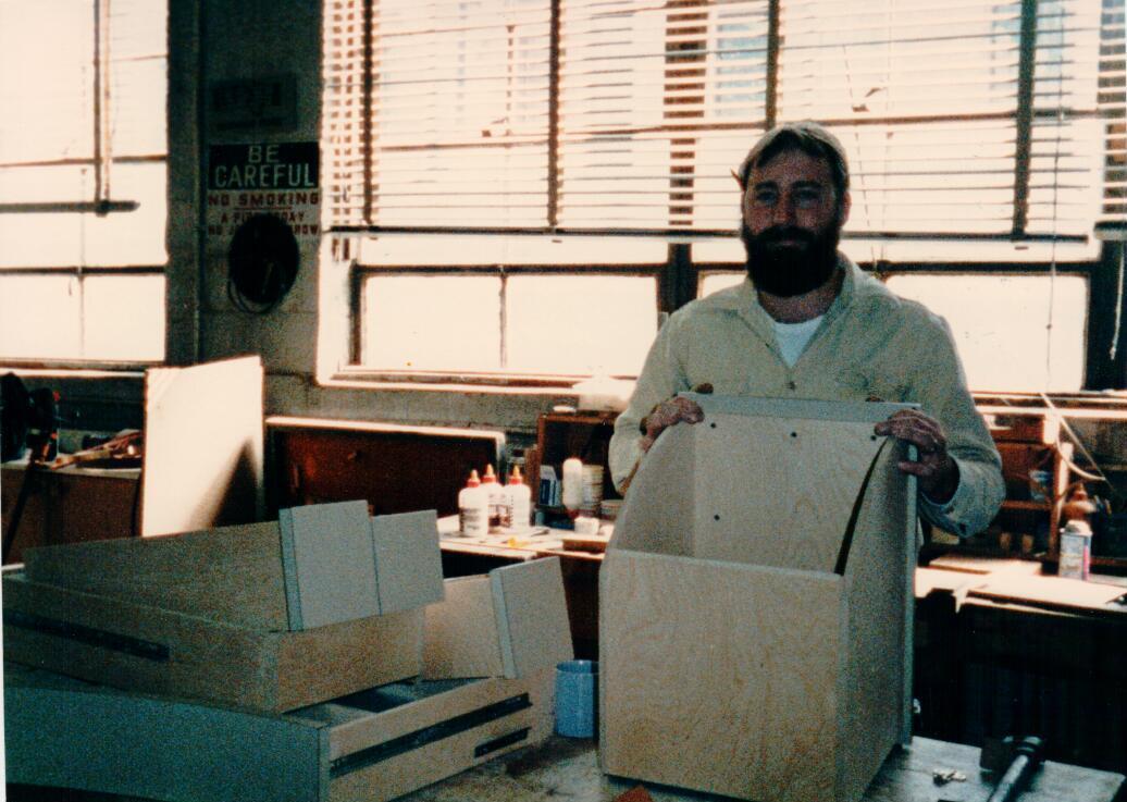 Jim Helm, Dettmers Cabinetmaker 1983