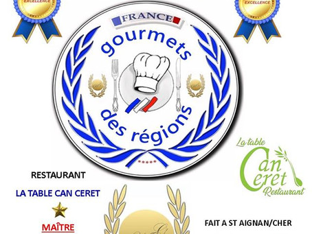 Titre d'excellence  pour La Table Can Ceret