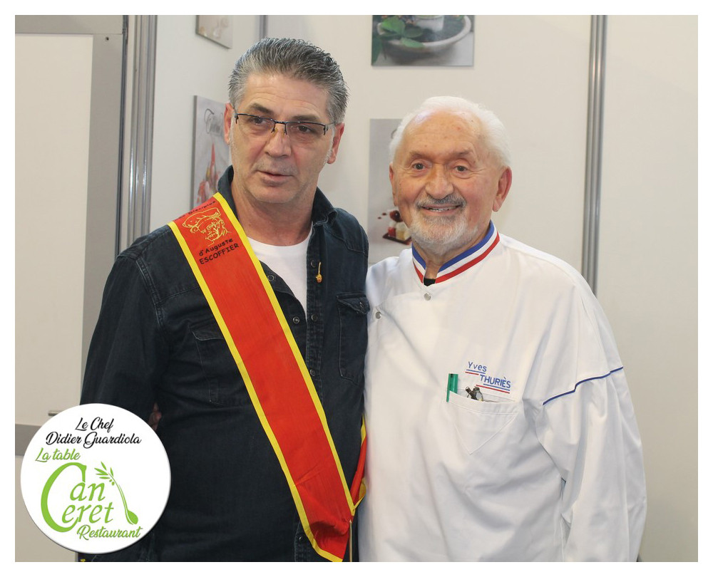 Avec Yves Thuries