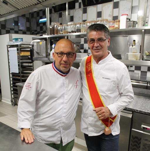 Avec Franck Putelat