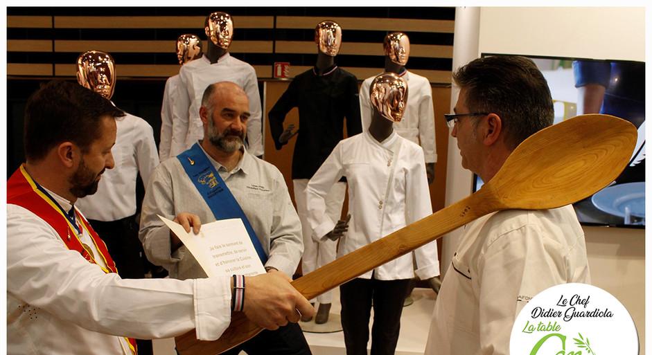 Intronisation du Chef Didier GUARDIOLA