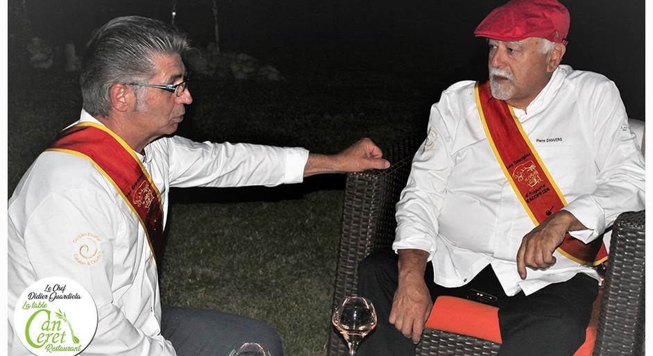 Avec le chef Pierre DANVERS