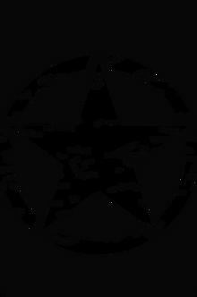 JK/JKU Hood Blackout -Distressed Oscar Mike Star