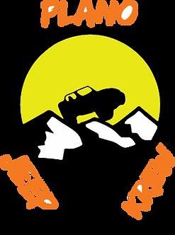 Plano Jeep Krew Decal - Yellow & Orange