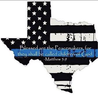 TX Thin Blue Line - Scripture
