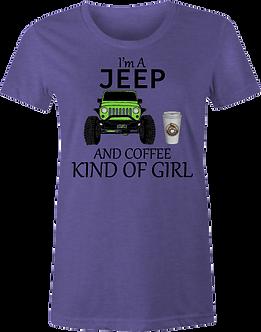 Jeep Girl and Coffee