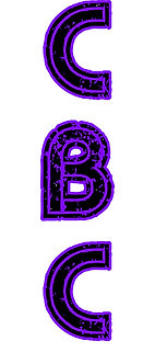 Vertical Letters (CBC Jeep Club)