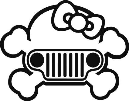 Jeep Grill Girl