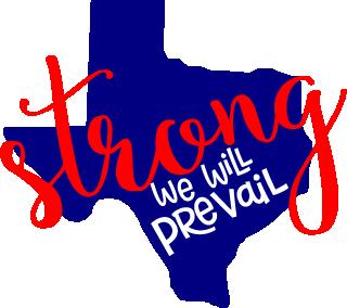 "4""Texas Strong Decal"