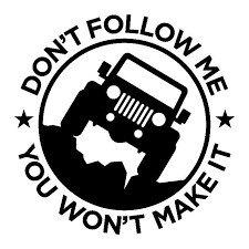 Don't Follow Me