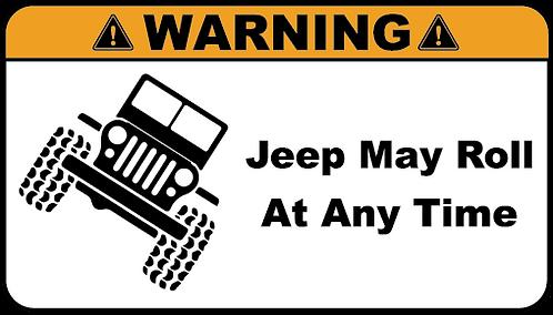 Warning Jeep May Roll