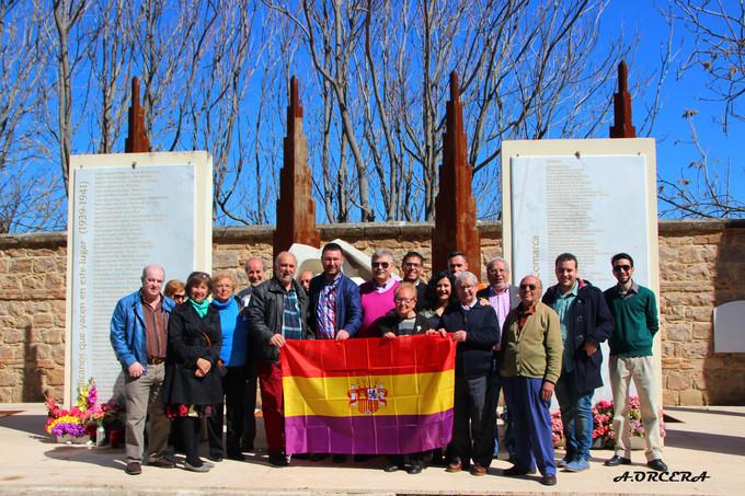 La Asociación para la Recuperación de la Memoria Histórica en Jaén celebra el 14 de abril