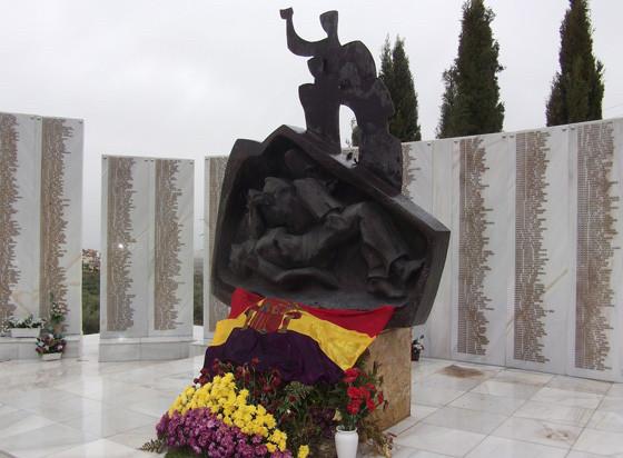 Monumento a las víctimas de la dictadura en Jaén