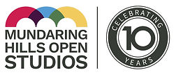 Mundaring Hills Open Studios logo