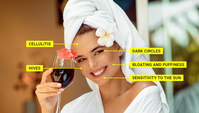 How Drinking Alcohol Affects Your Skin