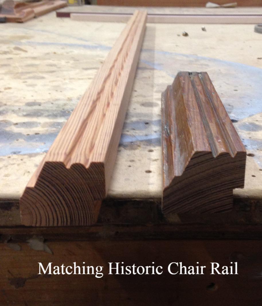 Historic Chair Rail