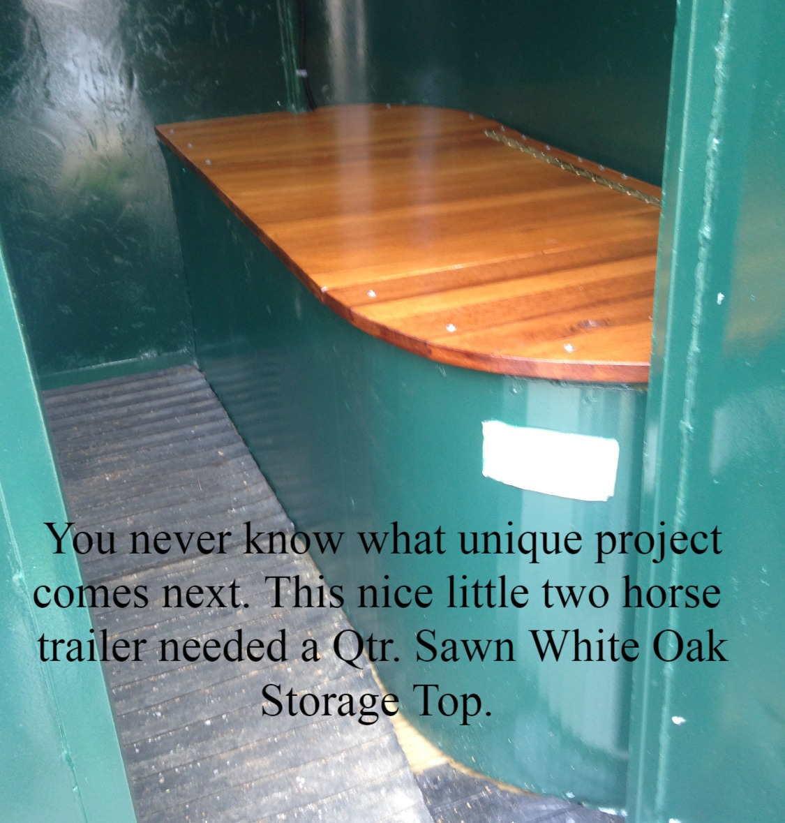 Two Horse Trailer Project