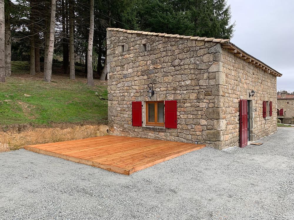 bergerie location gite chateau rousset