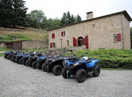 Les activités autour de la location de Château Rousset en Ardèche.