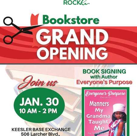 Black Authors Rock Bookstore Grand Opening Scheduled