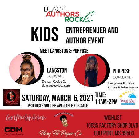 Wish List boutique to host Meet and Greet for a budding entrepreneur and a young author