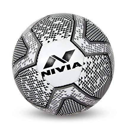 Nivia Black & White Football