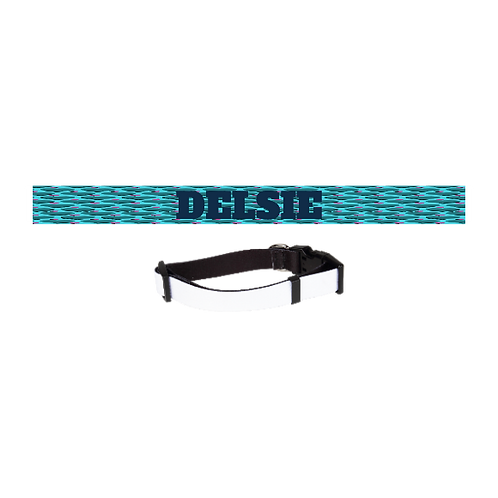 Dog Collar, adjustable with snap closure.